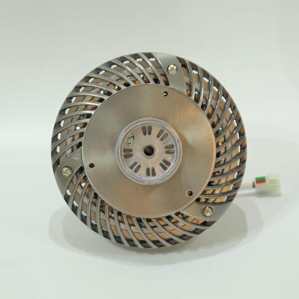 Động cơ Aluminum tải nhiệt tốt, vận hành mạnh mẽ