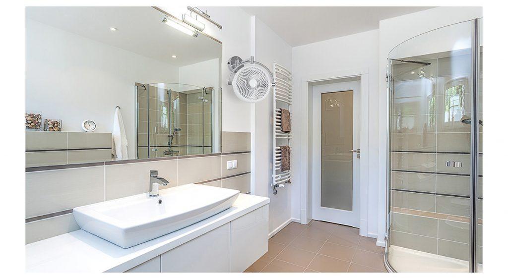 Quạt treo tường nhà tắm đẹp