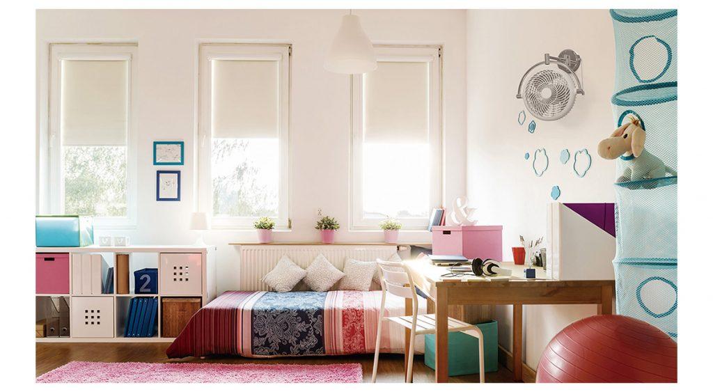 Quạt treo tường cho phòng ngủ