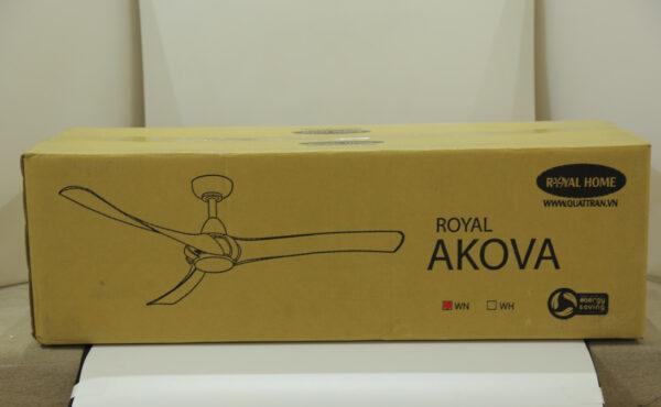 Thùng quạt trần Royal Akova