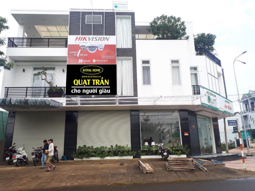 Địa chỉ bán quạt trần Royal tại Lâm Đồng
