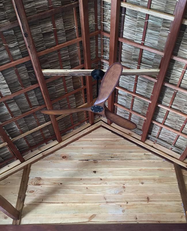 quạt trần cánh gỗ 3 cánh
