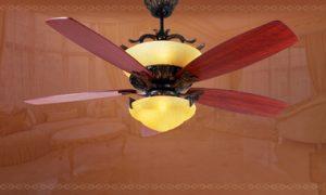 Quạt trần kết hợp đèn chùm giá 30 triệu đồng cho biệt thự