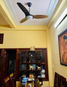 Mẫu quạt cánh gỗ MR.VŨ-SLIM lần đầu xuất hiện tại nhà anh Nguyễn Viết Độ