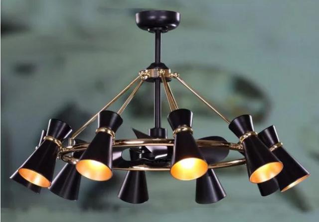Các mẫu quạt kết hợp đèn trần cao cấp hiện nay
