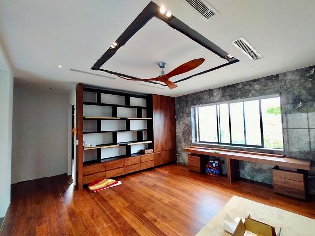Quạt trần trang trí bằng gỗ